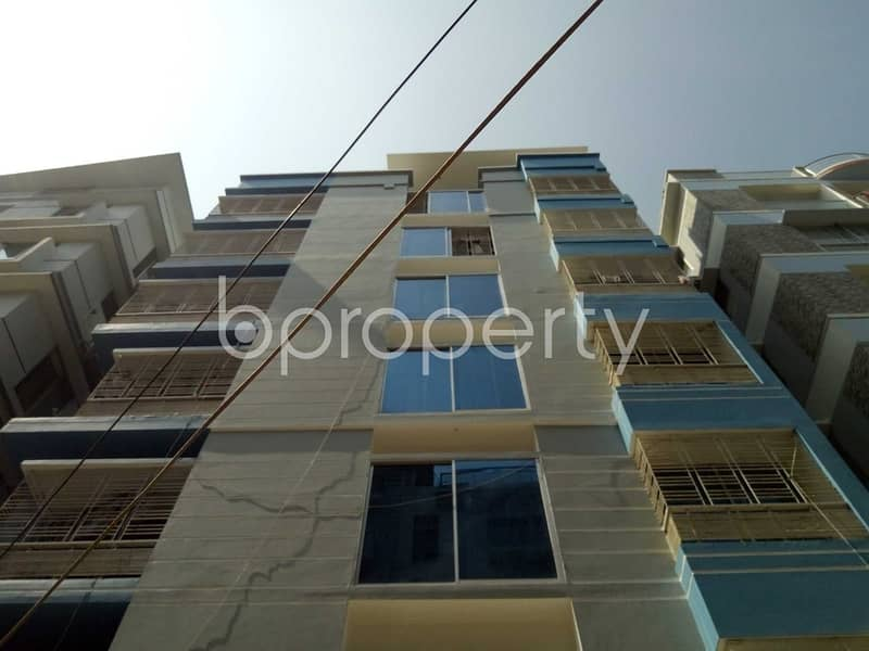 Properly Designed This 1150 Square Feet Apartment Is Now Up For Rent In Mirpur DOHS