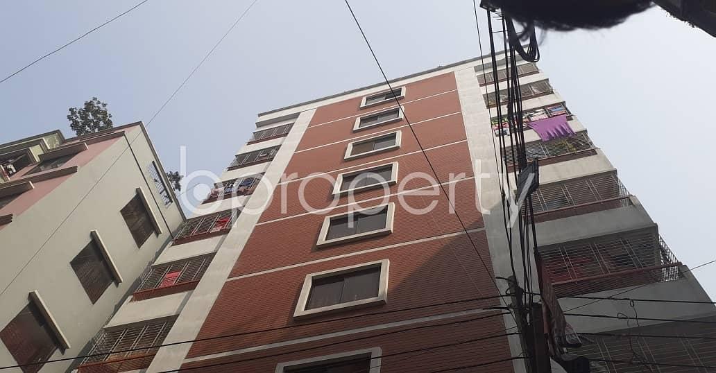 This 700 Sq. Ft Flat Up For Rent In Shekhertek Near Baitul Ahsan Jame Mosjid