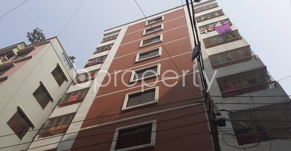 This 3 Bedroom Flat Up For Rent In Shekhertek Near Baitul Ahsan Jame Mosjid