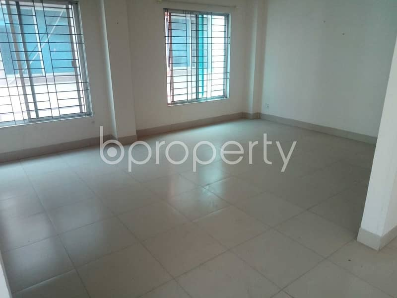 Properly Designed This 2200 Square Feet Apartment Is Now Up For Rent In Mirpur DOHS.