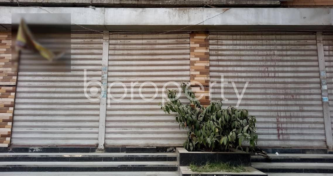 1400 SQ. FT. Shop Space Ready To Rent At Kamal Soroni Road, Pirerbag .