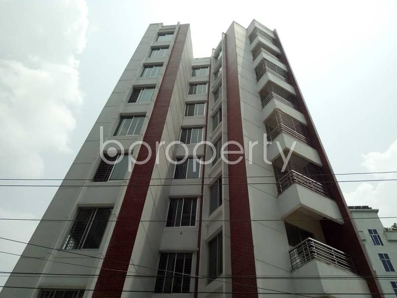 Grab This Flat Up For Rent In Bashundhara Near Dutch-bangla Bank