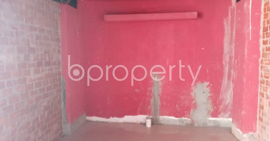 This 144 Square Feet Shop Is Up For Rent In Pallabi Beside To Regent Hospital Ltd.