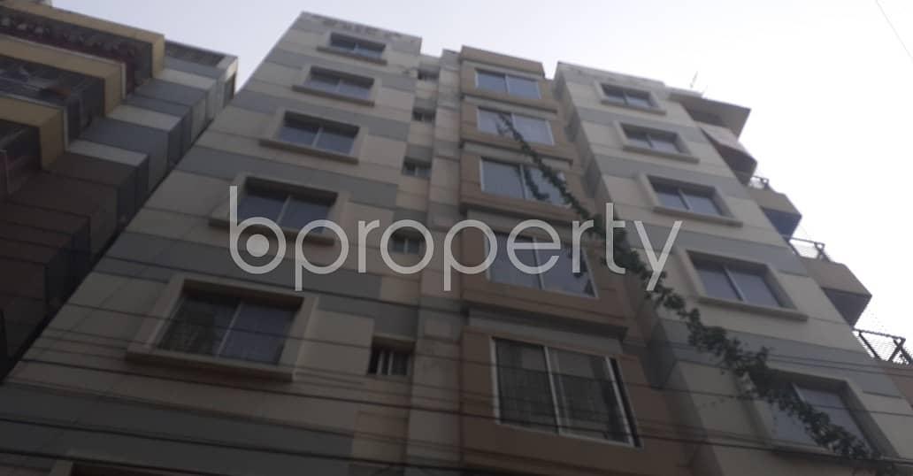An Apartment Is Ready For Rent At Mohammadpur, Near Baitul Ahsan Jame Mosjid.
