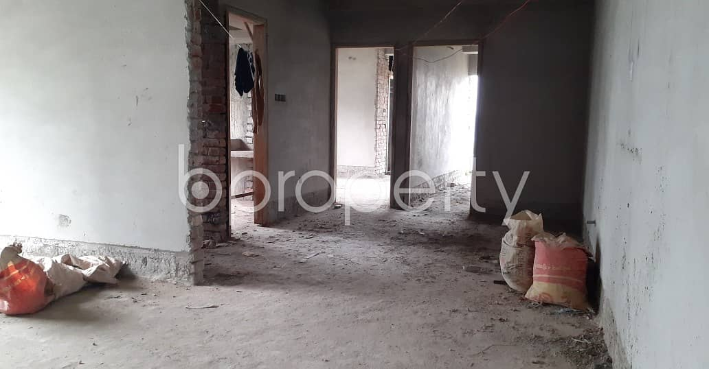 At Ashkona Main Road , A 1375 Square Feet Residential Apartment For Sale