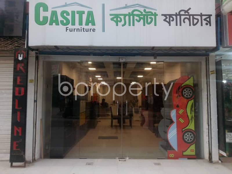 Acquire This Shop Which Is Up For Rent In Banasree Near Eastern Banabithi Shopping Complex