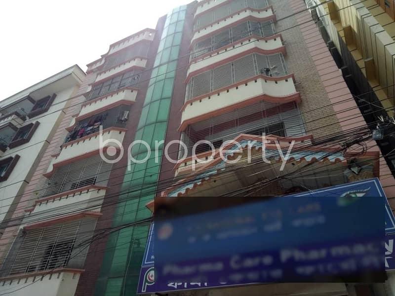 Near Kacha Bazar 1400 SQ FT Office for rent in Uttara
