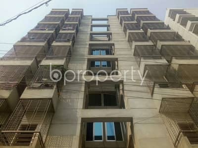 3 Bedroom Flat for Rent in Aftab Nagar, Dhaka - This 1100 Sq Ft Well Defined Flat Is Now Vacant To Rent In Aftab Nagar