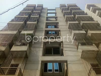 3 Bedroom Flat for Rent in Aftab Nagar, Dhaka - Obtain This Well Fitted Flat Of 1100 Sq Ft Which Is Up For Rent In Aftab Nagar