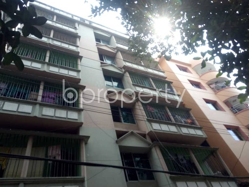 Properly designed this 1400 SQ Ft flat is now up for rent in Panchlaish
