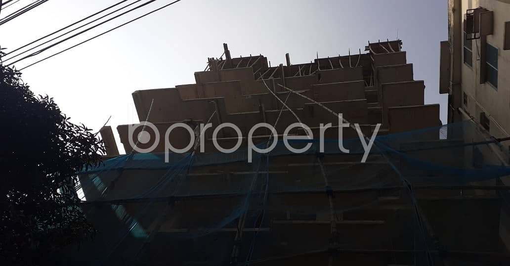 An Apartment Up For Sale Is Located At Dhanmondi, Near To West Dhanmondi Jame Masjid