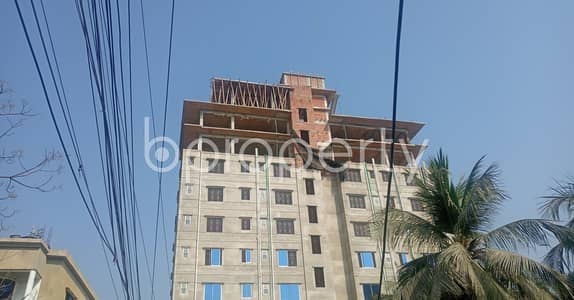 2 Bedroom Apartment for Rent in Halishahar, Chattogram - A Beautifully Constructed Apartment Of 850 Sq Ft Is Vacant Right Now For Rent In Munir Nagar