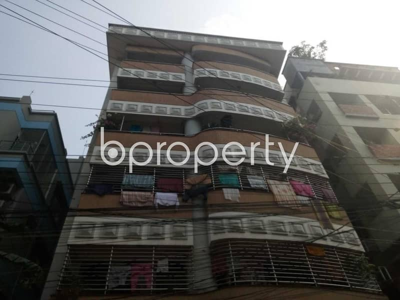 A Nice Flat Is Up For Sale In Uttara Near Uttara Police Atation