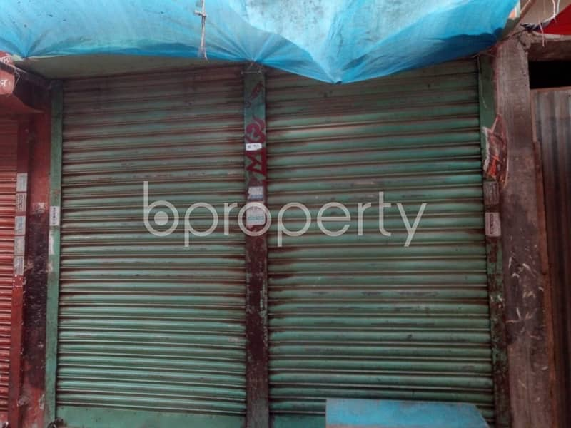 A Well Located Commercial Shop Is For Rent In Ibrahimpur.