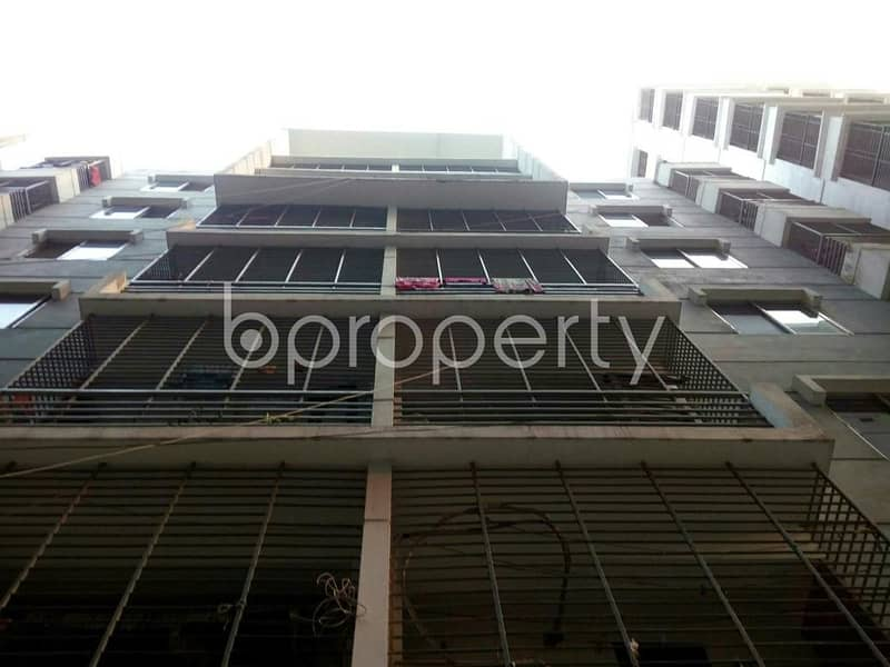 This 1275 SQ Ft apartment up for sale in Bagan Bari, near Al Amin Medicine And Surgical Store