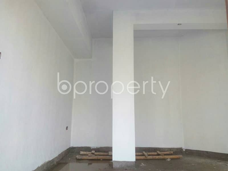 Commercial Shop Of 230 Sq Ft Is Up For Rent In Banasree