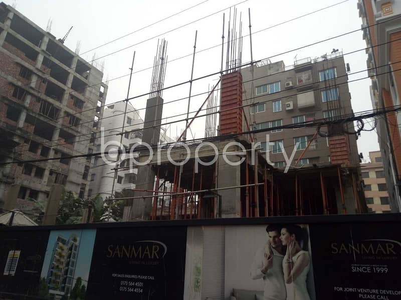 1730 Sq. Ft Flat For Sale At Bashundhara R-a Near Ebenzer International School