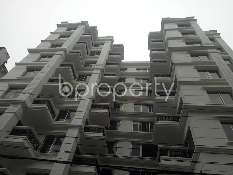 Check This Apartment Up For Sale At Bashundhara R-A Near Ebenzer International School