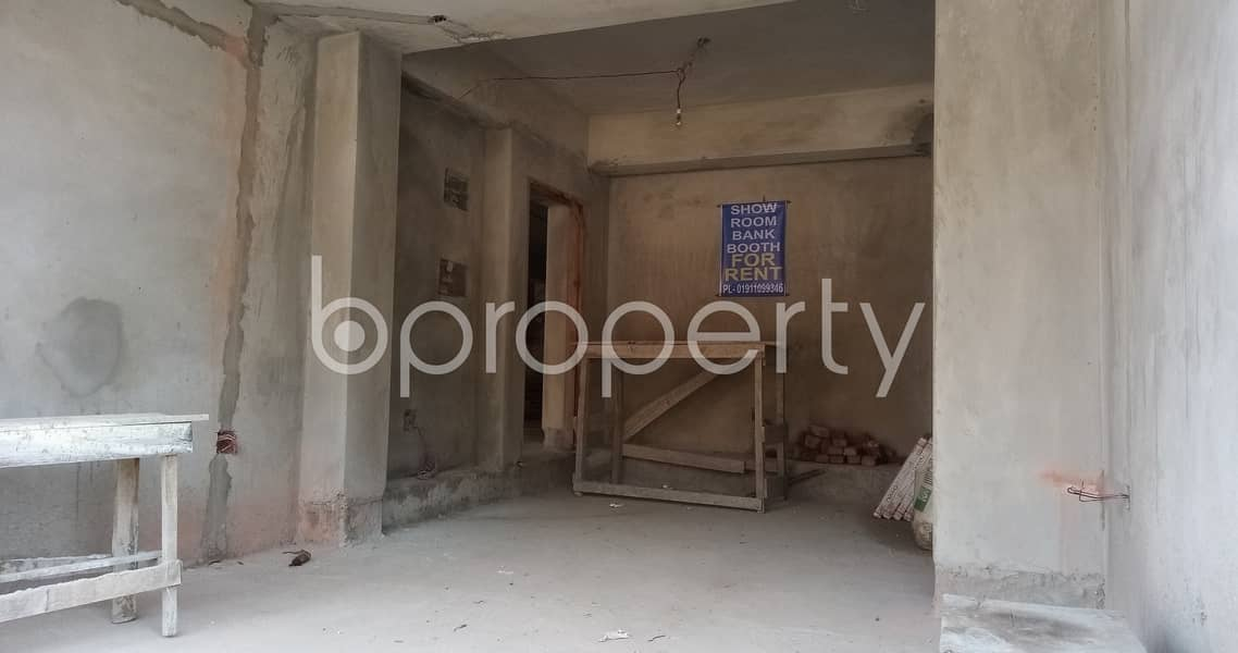 This Well Defined Commercial Space Is Now Vacant To Rent In Bayazid With Satisfactory Price.