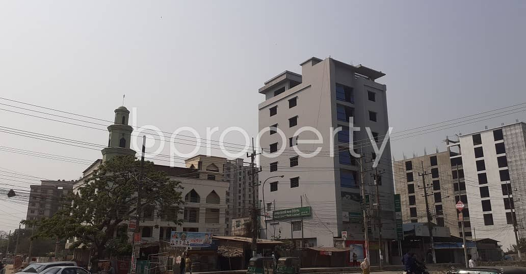 Grab This 1850 Sq Ft Commercial Apartment Ready For Rent At Halishahar