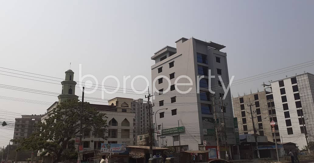 This 1850 Sq. Ft Commercial Apartment Is Ready For Rent At Halishahar
