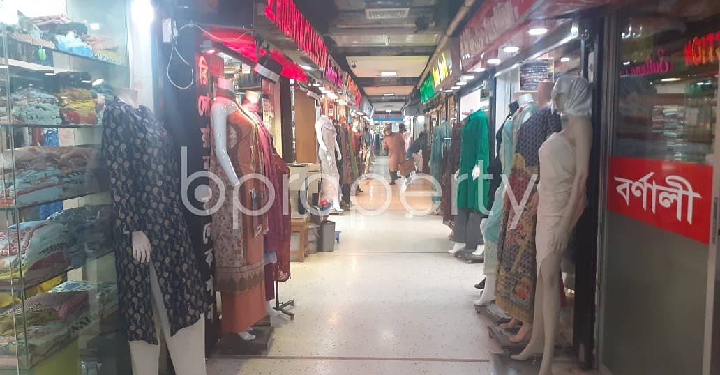 234 Sq Ft Well Defined Shop Is Now Vacant To Rent In Gulshan 2 With Satisfactory Price.