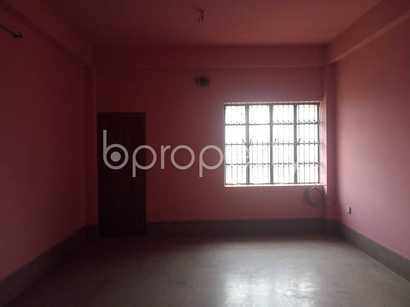 A well sized 1450 SQ FT residential apartment is available for rent at Panchlaish