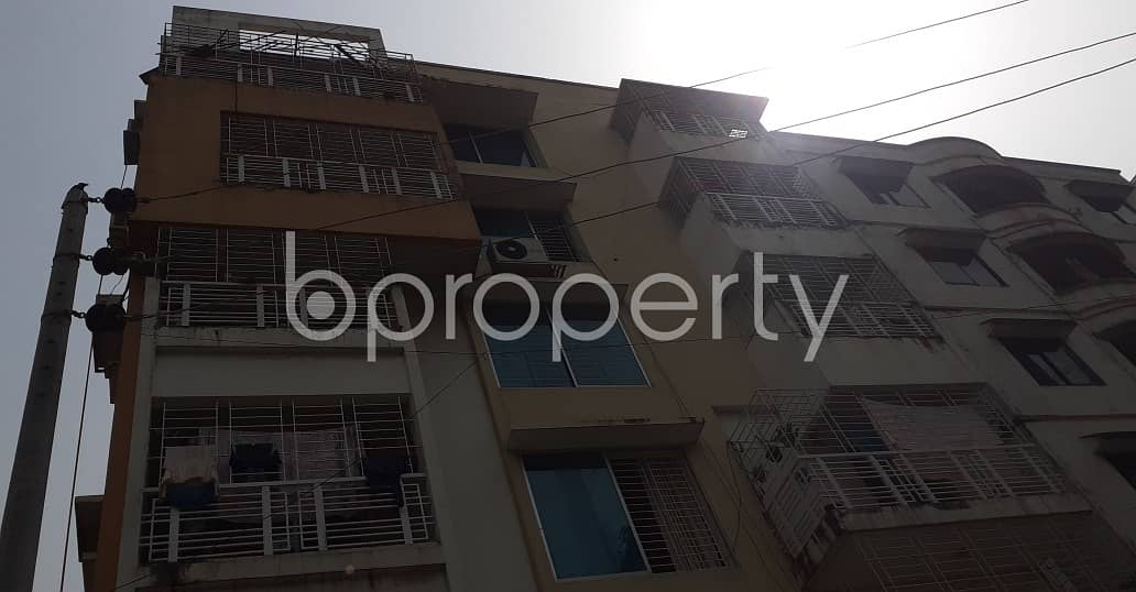 A very reasonable 1807 SQ FT residential flat is up for sale located at Lalmatia