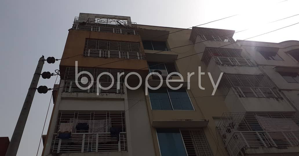1807 SQ FT road sided apartment for sale in Lalmatia, Block B