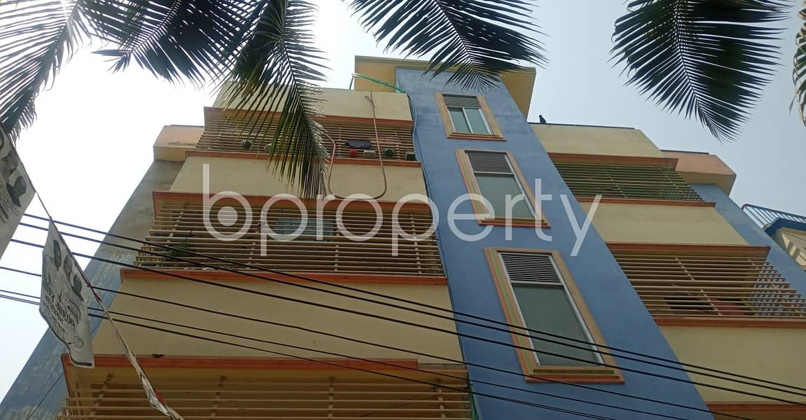 Take rent of a nicely done 720 SQ FT residential apartment located at Muslimabad