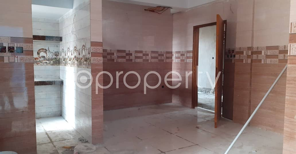 Find Your Desired Home At This 1270 Sq Ft Well Featured Flat For Sale At Dakshin Khan