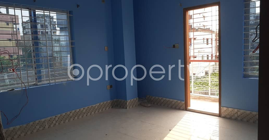 This 1270 Sq Ft Wonderful Apartment Is Set With Strong Structure In Dakshin Khan, For Sale
