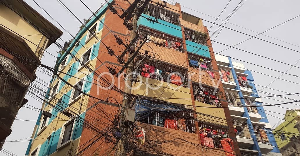 This Vacant Apartment Of 800 Sq Ft Situated In Patharghata, Is Up For Rent