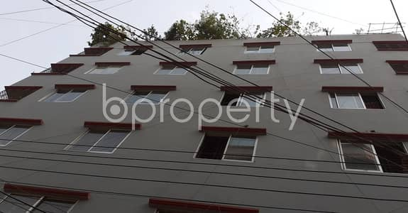 2 Bedroom Flat for Rent in Zafrabad, Dhaka - At Zafrabad, A 800 Sq Ft Well Fitted Residential Property Is On Rent