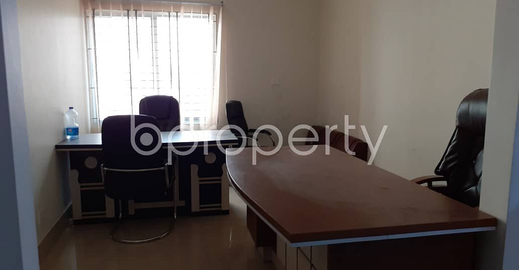 Amazing 850 Sq Ft Commercial Space Is For Rent At Nikunja