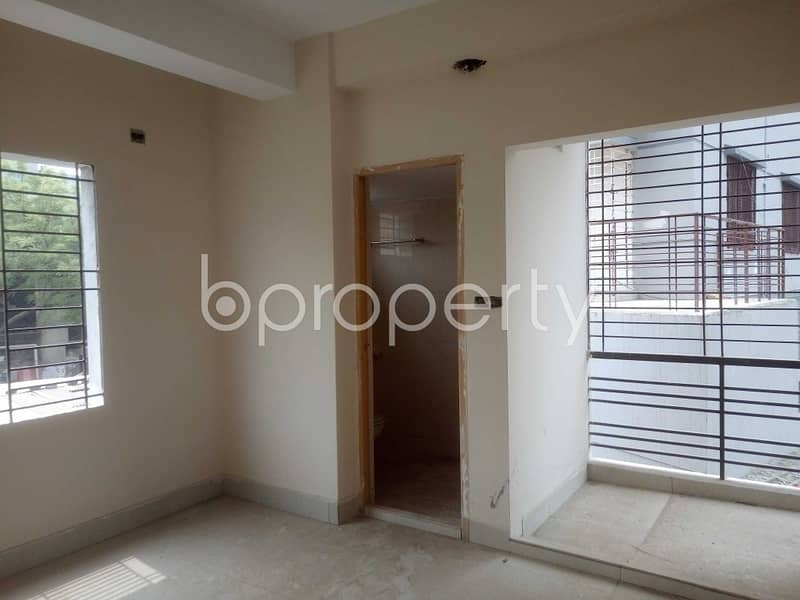 1300 Square Feet Residential Flat Is Ready For Sale At Badda