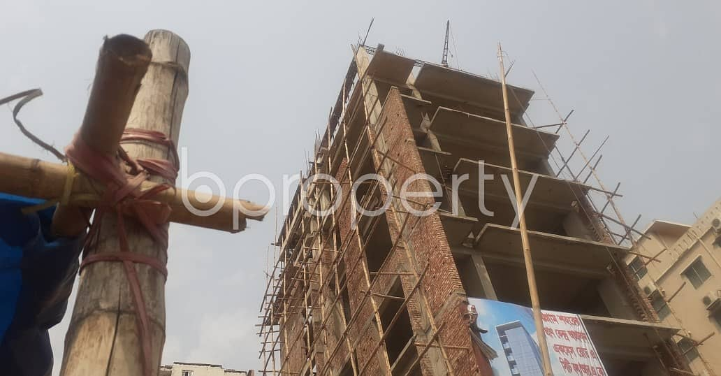 This Commercial Property Of 1800 Sq Ft Is For Rent At Block L, 26 No. North Halishahar Ward.