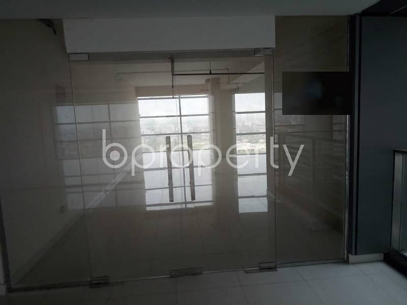2234 Square Feet Large Commercial Office For Rent At Bashundhara R-A Next To IFIC Bank Limited .