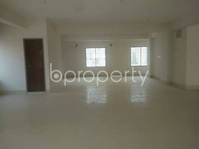 Office for Rent in Aftab Nagar, Dhaka - A 2750 Sq. Ft Business Space Is Up For Rent In The Location Of Aftab Nagar.
