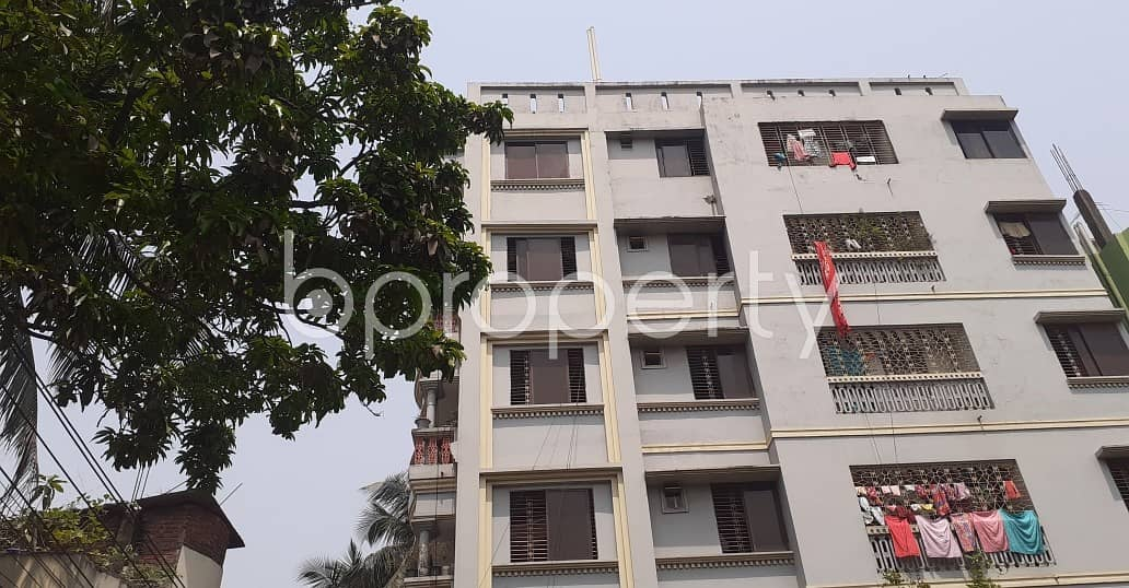 A Ready 600 Sq. ft -2 Bedroom Apartment For Rent In The Location Of Halishahar Road