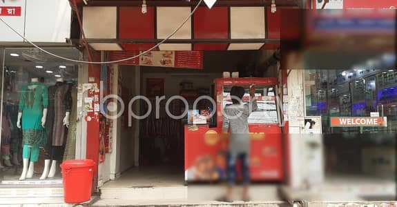 Shop for Rent in Khilgaon, Dhaka - 80 Sq Ft Commercial Shop Is Up For Rent At Taltola