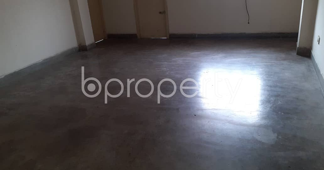 A well-constructed 5600 SQ FT office is ready to Rent in Mohammadpur