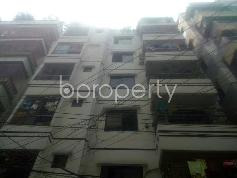 A 2 Bedroom And 750 Sq Ft Properly Developed Flat For Sale In South Baridhara Residential Area