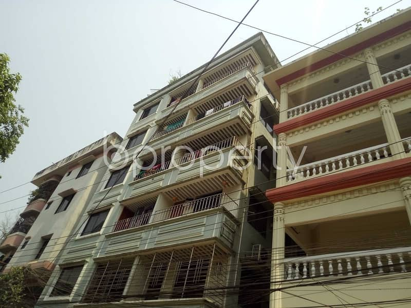 This 700 Sq Ft Well Defined Flat Is Now Vacant To Rent In Sugandha R/a