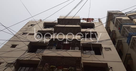 2 Bedroom Flat for Rent in Adabor, Dhaka - Make This 800 Sq Ft Flat Your Next Residing Location, Which Is To Rent At Baitul Aman Housing Society.