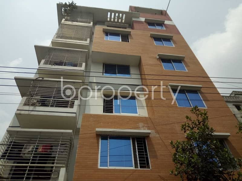 Well-constructed 750 SQ FT home is now offering to you in Bashundhara R-A for rent