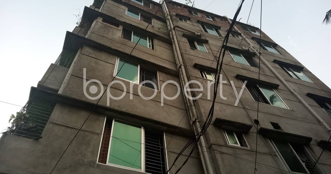 Well Defined Flat Of 500 Sq Ft In Mirbag Notun Rasta Is Available For Rent