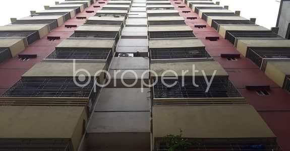 3 Bedroom Apartment for Sale in Jatra Bari, Dhaka - In This Serene Neighborhood Of Sontek A 3 Bedroom Large Flat Is Up For Sale.