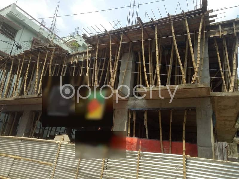Close To Al - Madina Jame Masjid A 1140 Sq. Ft Residential Apartment For Sale At Ibrahimpur .