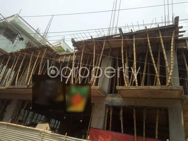 At Ibrahimpur 1125 Sq. ft Flat Is Up For Sale Close To Al - Madina Jame Masjid.